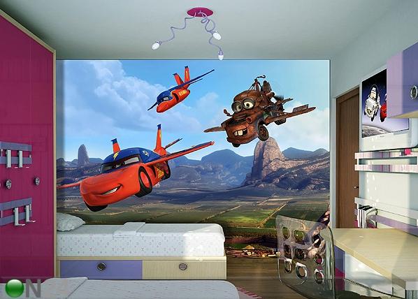 Fototapeet Disney car flies 360x254 cm ED-87998