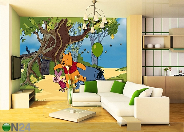 Fototapeet Disney Winnie the Pooh 360x254 cm ED-88004