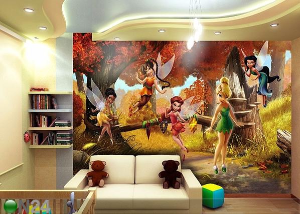Fototapeet Disney fairies 360x254 cm ED-88008