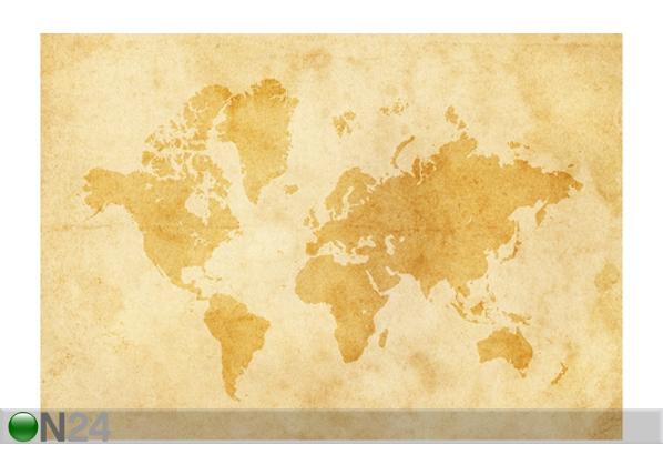 Fototapeet Vintage worldmap 400x280 cm ED-88122