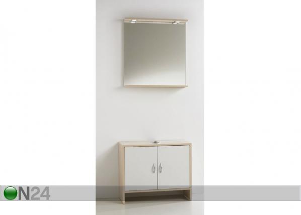 Valamualune kapp + peegel Toscana CM-88486