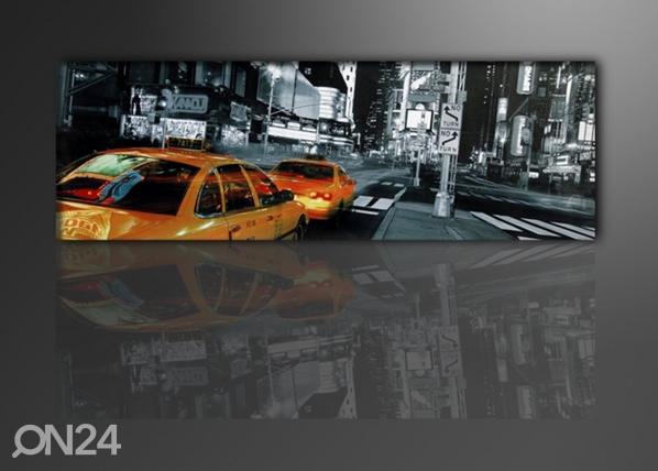 Seinapilt New York takso 120x40 cm ED-88874