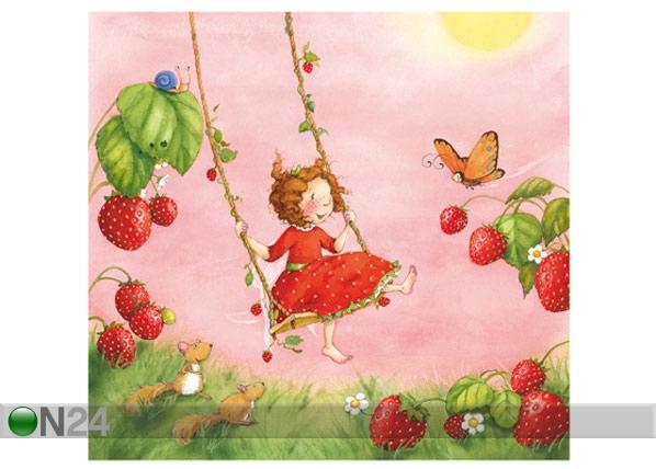 Fototapeet Strawberry fairy 300x280 cm ED-89200