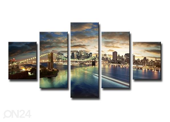 Viieosaline seinapilt New York ED-89560