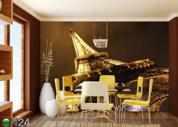 Fliis-fototapeet Eiffel Tower 360x270 cm ED-90560