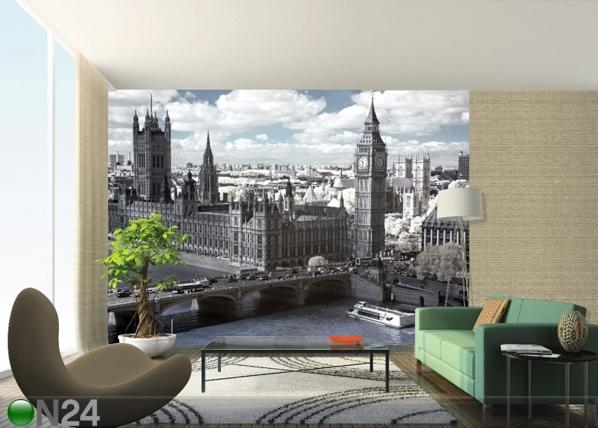 Fliis-fototapeet London Parliament 360x270 cm ED-90562
