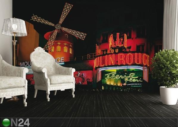 Fliis-fototapeet Moulin Rouge 360x270 cm ED-90583
