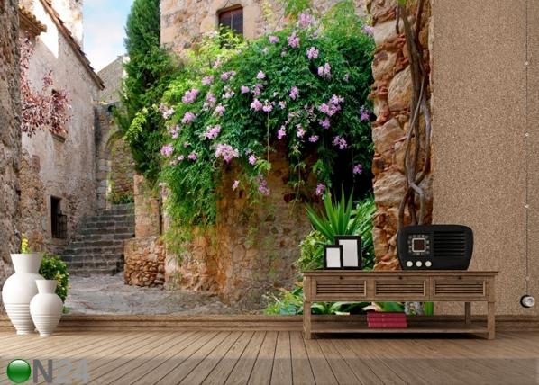 Fliis-fototapeet Courtyard 360x270 cm ED-90585