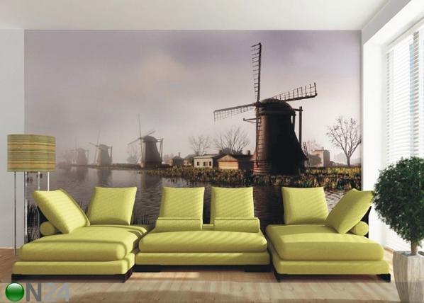 Fliis-fototapeet Netherlands 360x270 cm ED-90597