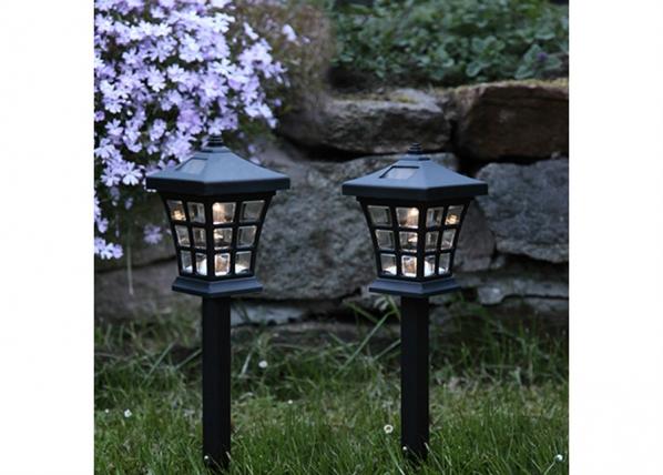 Päikesepaneeliga aiavalgustikomplekt 2tk AA-90651