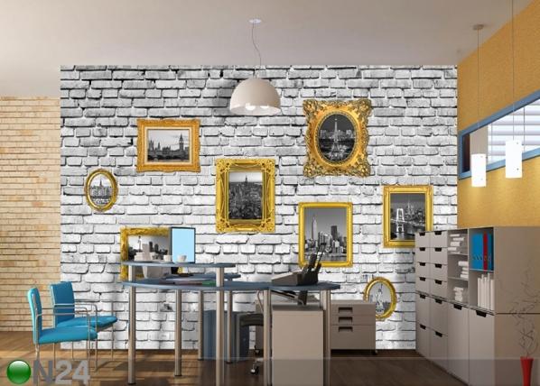 Fliis-fototapeet Images on wall 360x270 cm ED-90657