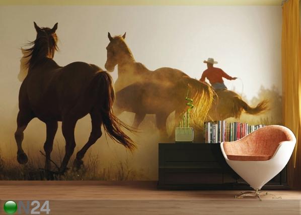Fliis-fototapeet Wild West 360x270 cm ED-90701