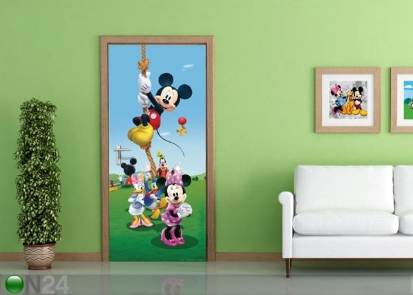 Fliis-fototapeet Disney Mickey on a rope 90x202 cm ED-91002