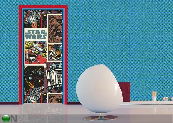 Fliis-fototapeet Star Wars comics 90x202 cm ED-91067