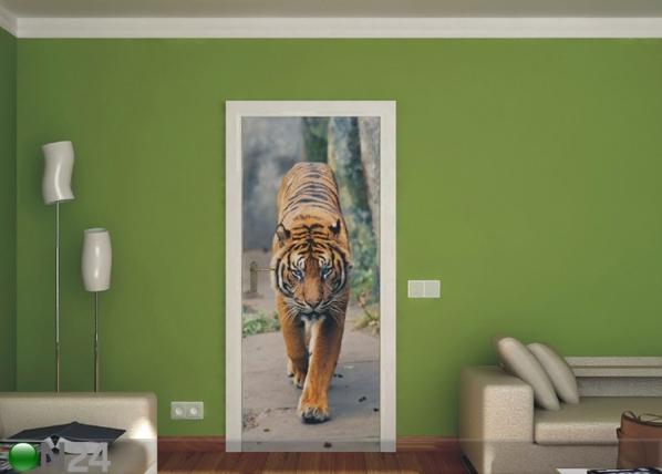 Fliis-fototapeet Tiger 90x202 cm ED-91083