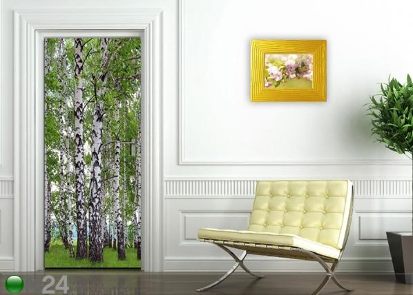 Fliis-fototapeet Birch grove 90x202 cm ED-91117