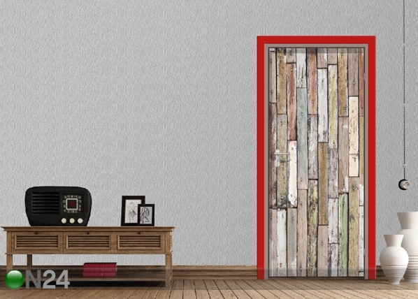 Fliis-fototapeet Boards 90x202 cm ED-91473