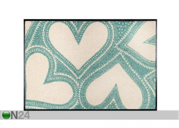 Vaip Lovely Green 50x75 cm A5-91512