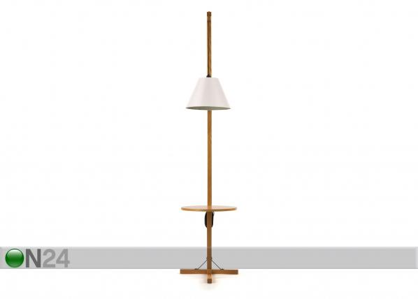 Põrandavalgusti Floor Lamp Table + white shade WO-91918