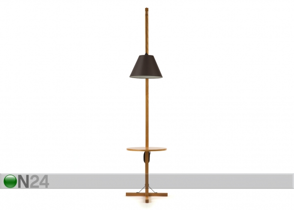 Põrandavalgusti Floor Lamp Table + dark shade WO-91921