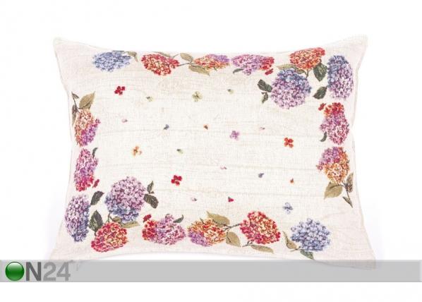Gobeläänkangast dekoratiivpadi Hortensia 35x47 cm TG-92113