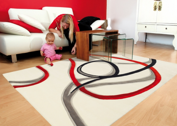 Vaip Red Trace 90x160 cm A5-92227