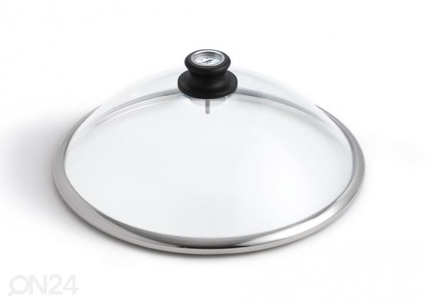 Klaaskaas termomeetriga LotusGrill FB-93771