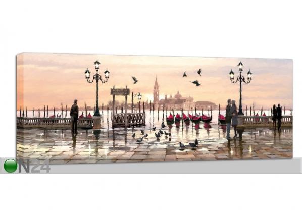 Pilt Red Boats 60x150 cm QA-94200