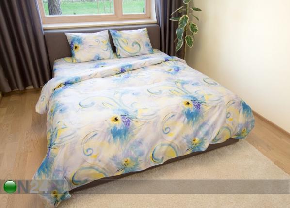 Voodipesukomplekt Blue Spring 200x210 cm AN-94699