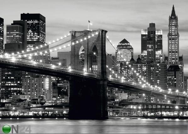 Fliis-fototapeet Brooklyn bridge 360x270 cm ED-94812