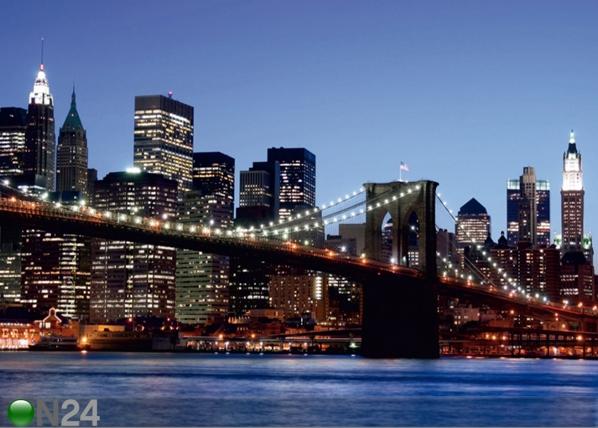 Fliis-fototapeet Brooklyn bridge 360x270 cm ED-94814