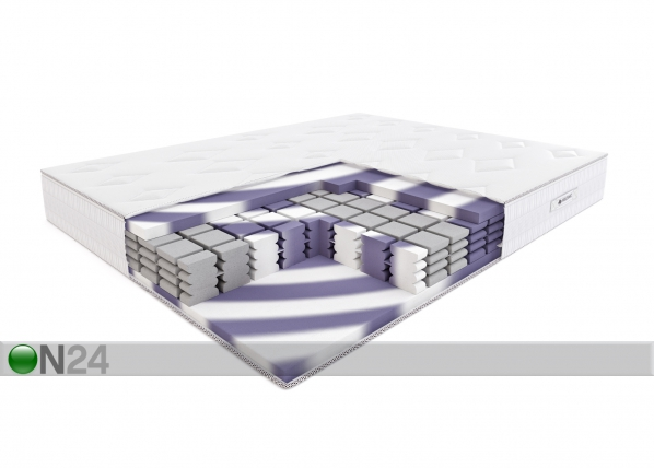 Poroloonmadrats Twist Diamond 180x200 cm SW-95019