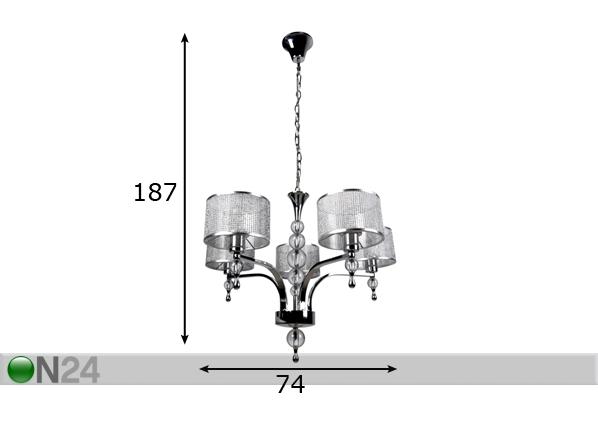 Rippvalgusti Jewellery A5-96003
