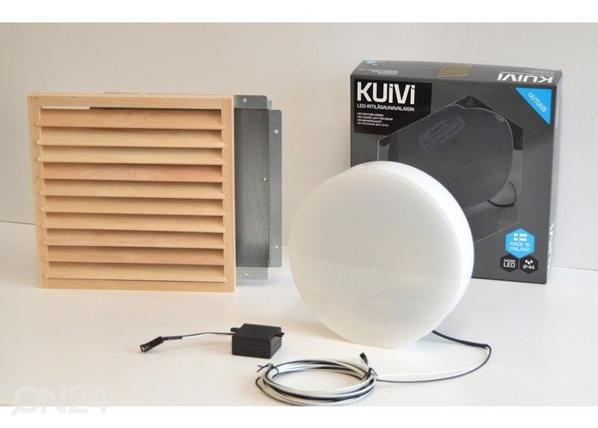 Süvistatav LED saunavalgusti puitrestiga Kuivi LY-96673