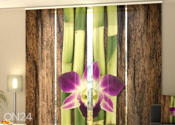 Poolpimendav paneelkardin Four Shoots of Bamboo 240x240 cm ED-97525