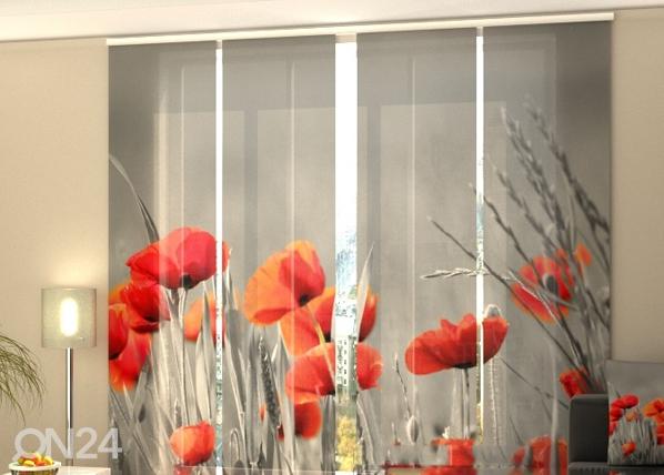 Pimendav paneelkardin Wild Poppies 240x240 cm ED-97571