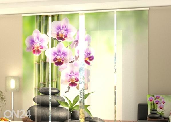 Pimendav paneelkardin Orchids and Stones 240x240 cm ED-97590