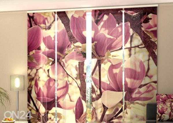 Pimendav paneelkardin Pink Magnolias 240x240 cm ED-97596
