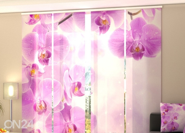 Pimendav paneelkardin Starry orchid 240x240 cm ED-97610