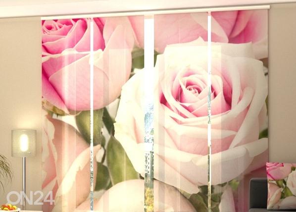 Läbipaistev paneelkardin Royal Roses 240x240 cm ED-97611