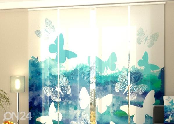Poolpimendav paneelkardin Blue butterfly 240x240 cm ED-97634
