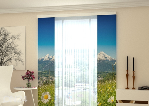 Läbipaistev paneelkardin Alps and camomiles 80x240 cm ED-97727