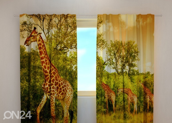 Pimendav kardin Giraffes 240x220 cm ED-98023