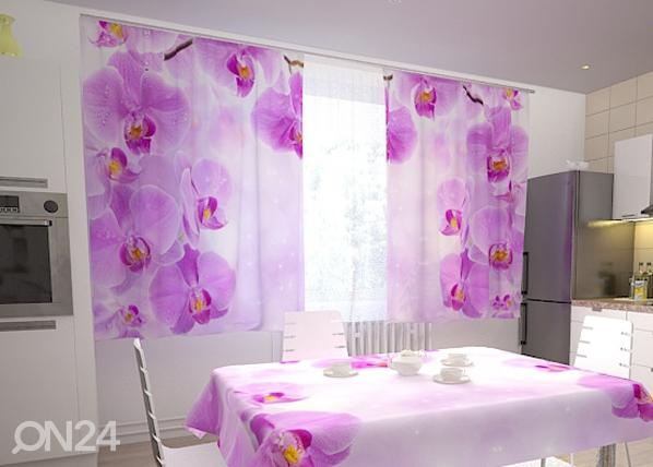 Pimendav kardin Kitchen in orchids 200x120 cm ED-98351
