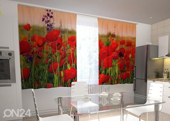 Pimendav kardin Wonderful poppies 200x120 cm ED-98402