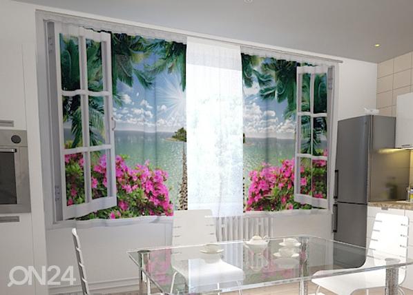 Läbipaistev kardin Open window 200x120 cm ED-98441