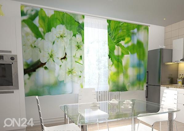 Pimendav kardin Spring flowers for the kitchen 200x120 cm ED-98453