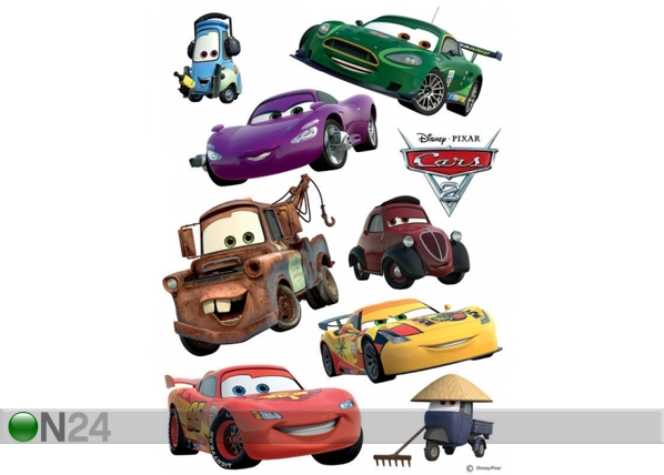 Seinakleebis Disney Cars 2 McQueen and Mater 42,5x65 cm ED-98666