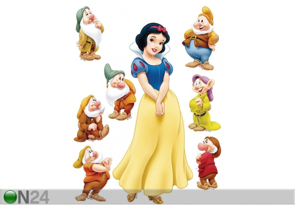 Seinakleebis Disney Snow White 42,5x65 cm ED-98671