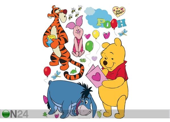 Seinakleebis Disney Winnie the Pooh and friends 42,5x65 cm ED-98676